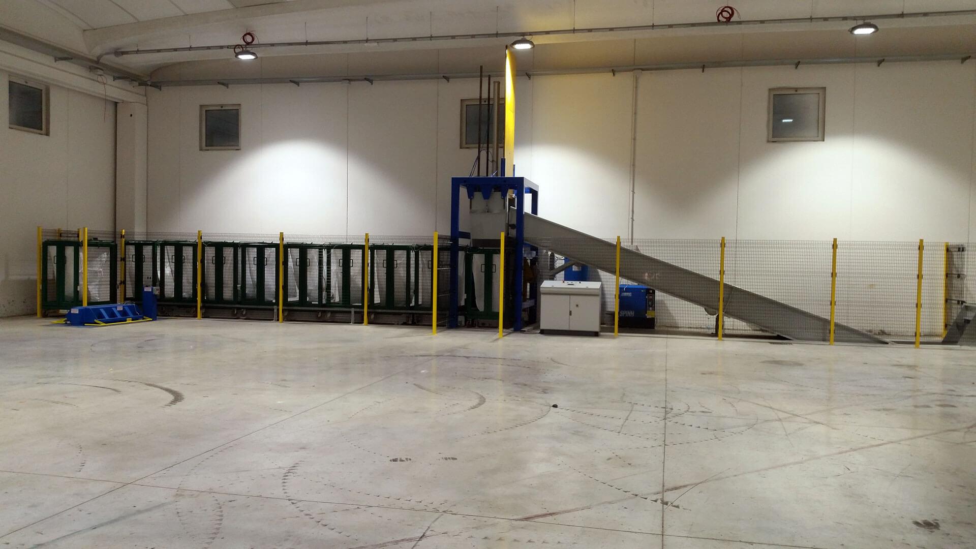 CMA Costruzioni Meccaniche - Cernita e Movimentazione
