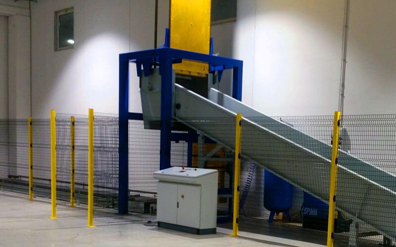 CMA - Costruzioni Meccaniche - Cernita e movimentazione